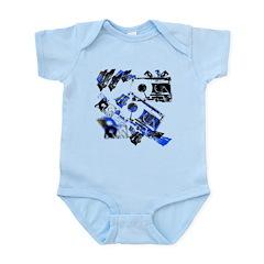 DJ Cassette V1 Infant Bodysuit