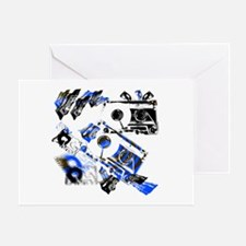 DJ Cassette V1 Greeting Card