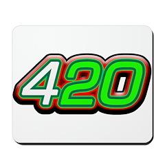 420 Logo Mousepad