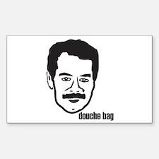 Douche Bag Rectangle Decal