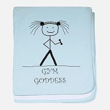 Gym Goddess: baby blanket