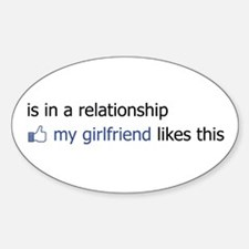 FB Status Relationship Too Decal