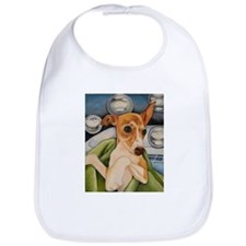 Italian Greyhound Puppy Bath Bib