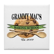 Grandma's Baking School 2010 Tile Coaster