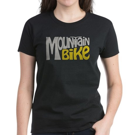 Mountain Bike Women's Dark T-Shirt