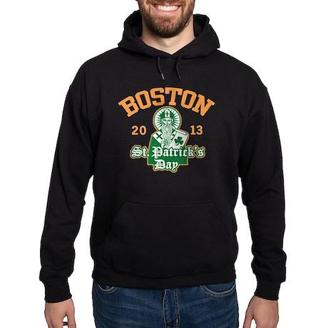 St. Patrick's Day Boston 2013 Hoodie (dark)