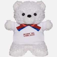 Made in Chicago Teddy Bear