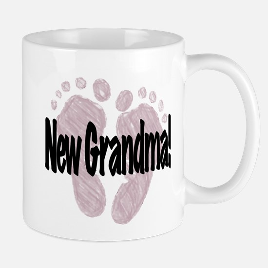 New Grandma (Girl) Mug