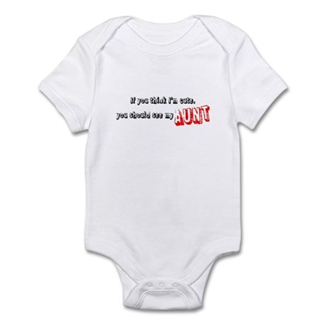 Proud Auntie Infant Bodysuit