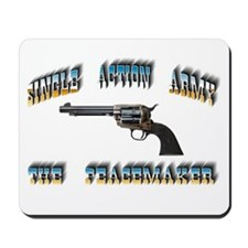 Single Action Army Mousepad