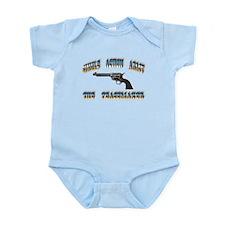 Single Action Army Infant Bodysuit