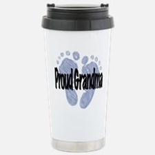 Proud Grandma (Boy) Travel Mug