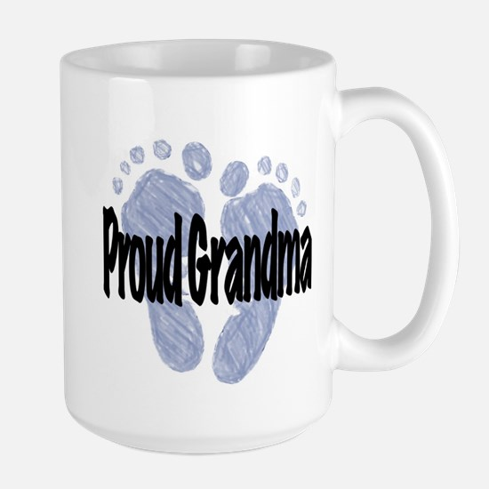 Proud Grandma (Boy) Large Mug