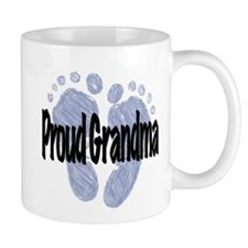 Proud Grandma (Boy) Small Mug