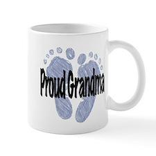 Proud Grandma (Boy) Small Mugs