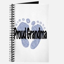 Proud Grandma (Boy) Journal