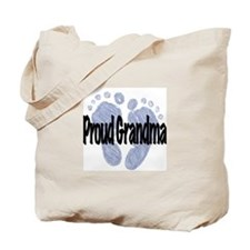 Proud Grandma (Boy) Tote Bag