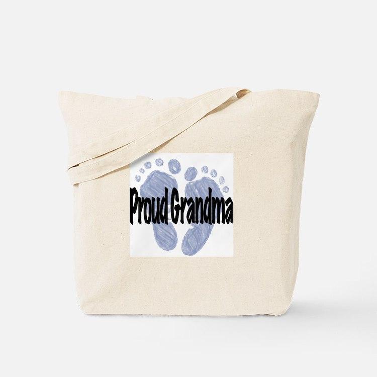 Proud Grandma (Boy) Tote Bag