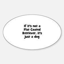 If it's not a Flat Coated Ret Oval Decal