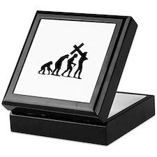 Cute God evolution Keepsake Box