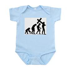 Unique Jesus cross Infant Bodysuit