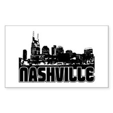 Nashville Skyline Decal