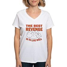 TheBestRevengeCat(10x10_apparel) T-Shirt