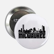"Milwaukee Skyline 2.25"" Button"