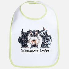 Miniature Schnauzer Lover Bib