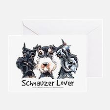 Miniature Schnauzer Lover Greeting Card