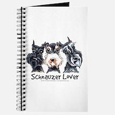 Miniature Schnauzer Lover Journal