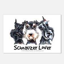 Miniature Schnauzer Lover Postcards (Package of 8)