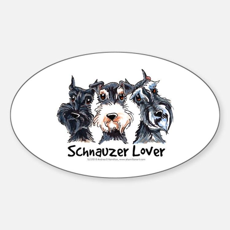 Miniature Schnauzer Lover Decal