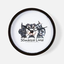 Miniature Schnauzer Lover Wall Clock