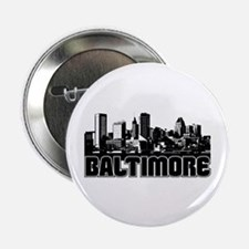 "Baltimore Skyline 2.25"" Button"
