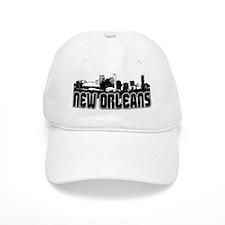 New Orleans Skyline Baseball Cap