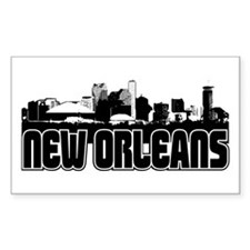 New Orleans Skyline Decal