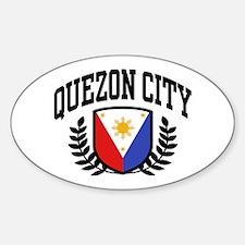 Quezon City Philippines Decal
