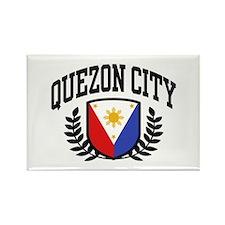 Quezon City Philippines Rectangle Magnet