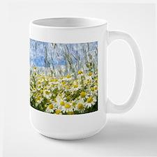 Painted Wild Daisies Mug