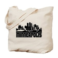Minneapolis Skyline Tote Bag