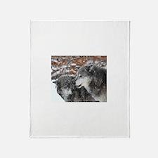 The Pair Throw Blanket