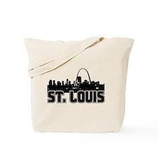 St. Louis Skyline Tote Bag