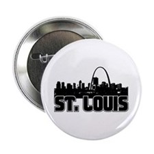 "St. Louis Skyline 2.25"" Button"