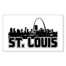 St. Louis Skyline Decal