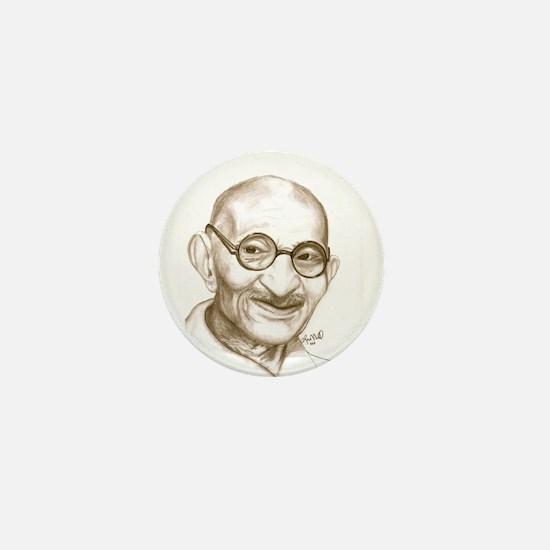 Ghandi Mini Button
