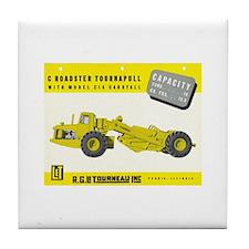 C Roadster Tournapull Tile Coaster