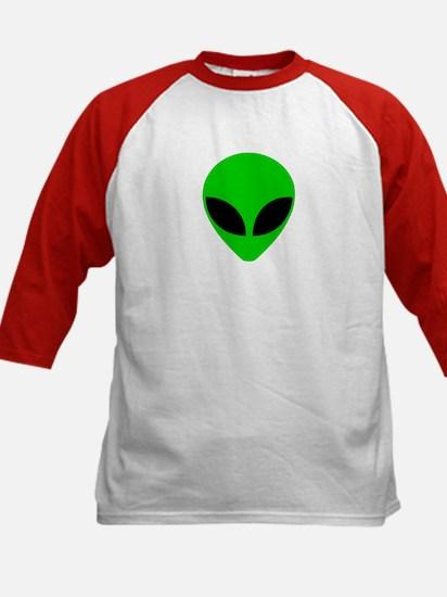 """""""Alien Head"""" Kids Baseball Jersey"""
