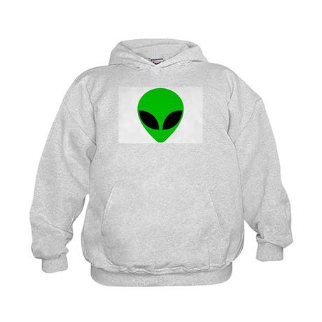 """""""Alien Head"""" Kids Hoodie"""