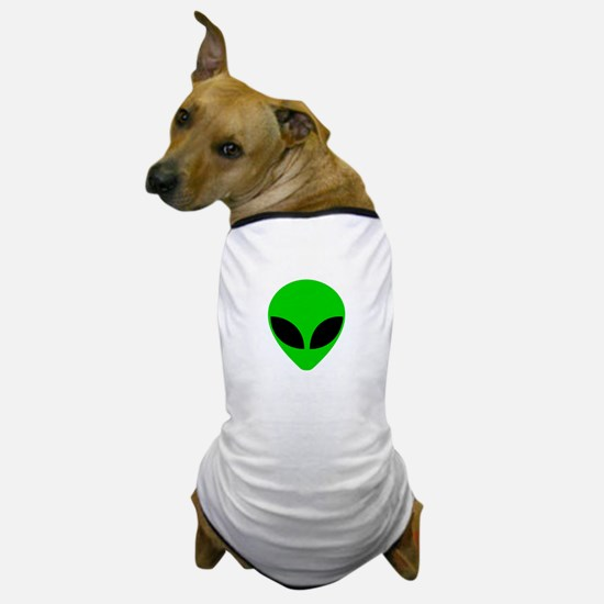 """Alien Head"" Dog T-Shirt"